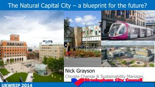 The Natural Capital City – a blueprint for the future?
