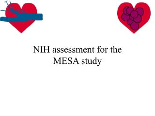 NIH assessment for the MESA study