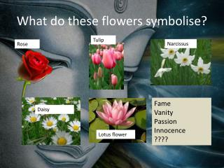What do these flowers symbolise?