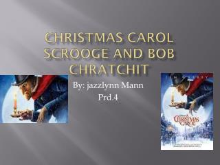 Christmas carol scrooge and bob  Chratchit