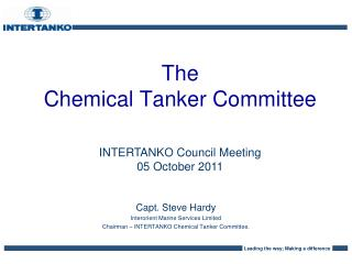 The  Chemical Tanker Committee