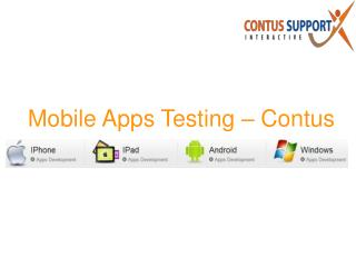 Mobile Applications - Realistic Mobile Performance Testing