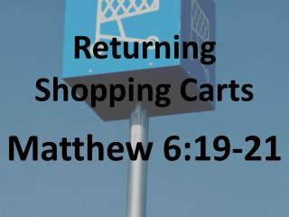 Returning Shopping Carts