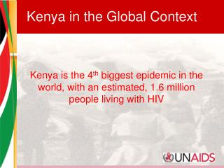 Kenya in the Global Context