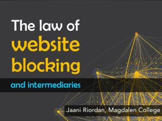 The law of website  blocking