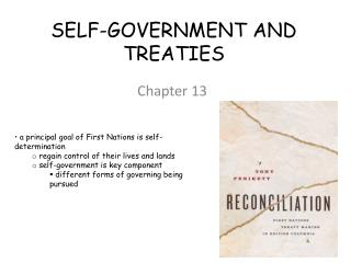 SELF-GOVERNMENT AND TREATIES