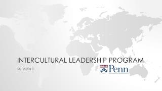 Intercultural leadership program