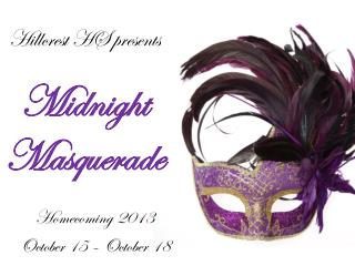 Hillcrest HS presents Midnight Masquerade