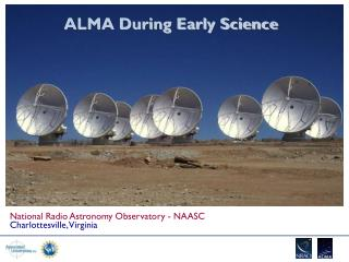 ALMA During Early Science