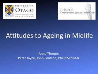 Attitudes to Ageing in Midlife