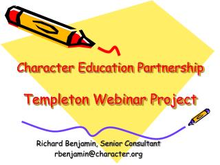Character Education Partnership Templeton Webinar Project