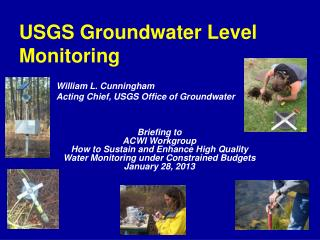 USGS Groundwater Level Monitoring