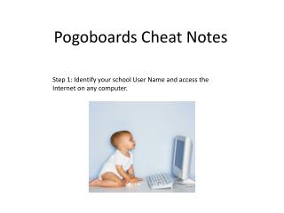 Pogoboards  Cheat Notes