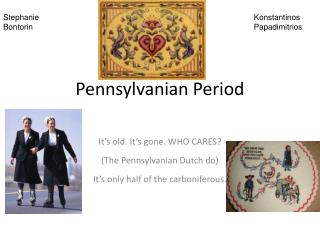 Pennsylvanian Period