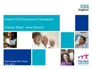 Interim CCG Assurance Framework