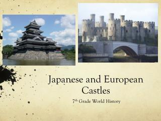 Japanese and European Castles