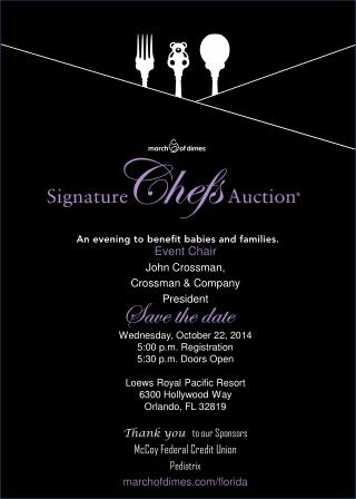 Wednesday, October 22, 2014 5:00 p.m. Registration 5:30 p.m. Doors Open