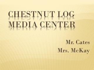 Chestnut Log Media Center