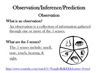 Observation/Inference/Prediction