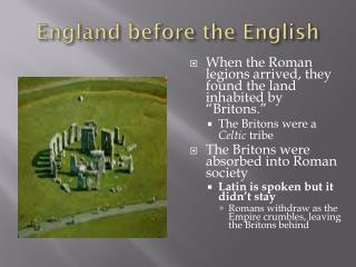 England before the English
