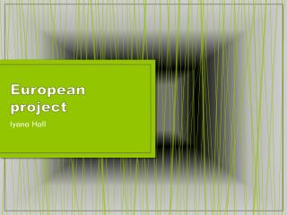 European project
