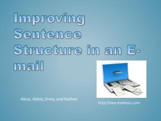 Improving Sentence Structure in an E-mail