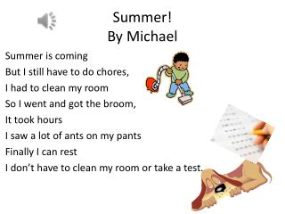 Summer!  By Michael