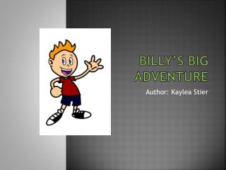 Billy's Big Adventure