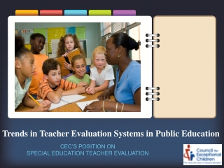 Evaluation for Special Education Teacher Effectiveness