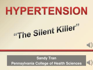 Sandy Tran Pennsylvania College of Health Sciences
