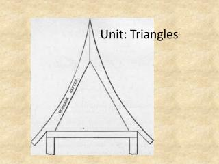 Unit: Triangles