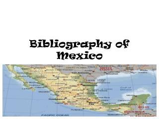 Bibliography of Mexico