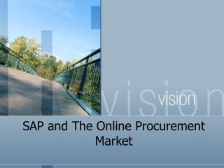 SAP and The Online Procurement Market