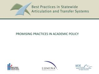 Promising Practices in Academic Policy