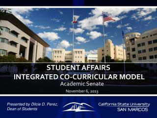 Student affairs   integrated Co-Curricular Model
