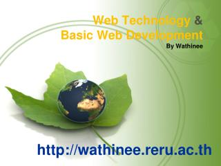 Web Technology  & Basic Web Development