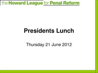 Presidents Lunch