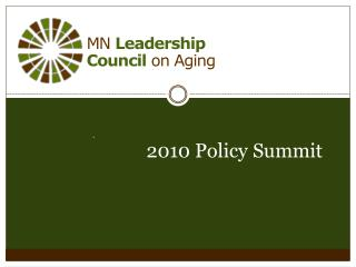 MN  Leadership  Council  on Aging