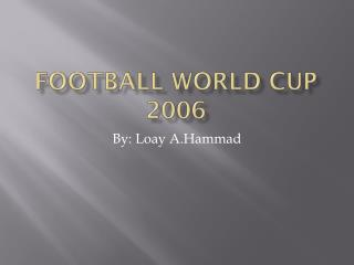 Football world cup 2006