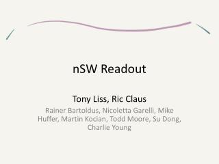 nSW  Readout