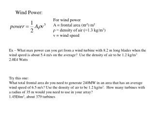 Wind Power: