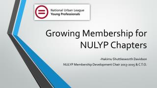 Growing Membership for NULYP Chapters