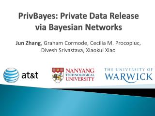 PrivBayes: Private Data Release via Bayesian Networks