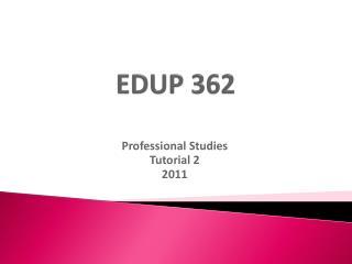 EDUP 362