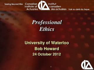 Professional Ethics