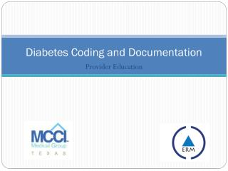 Diabetes Coding and Documentation