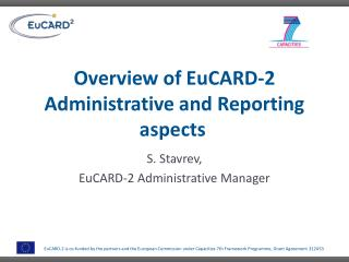 Overview of EuCARD-2 Administrative and Reporting aspects
