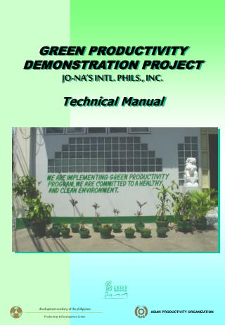 GPDP Training Manual - Phils.