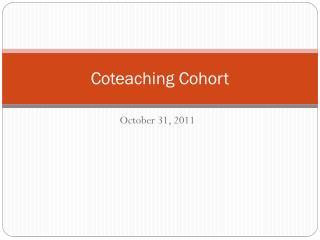 Coteaching Cohort