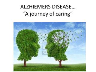 "ALZHIEMERS DISEASE… ""A journey of caring"""